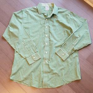 Brooks brothers supima cotton dress shirt, 17 neck
